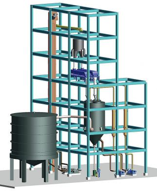 BCT Pitch Melting Plant (conceptual visualization)